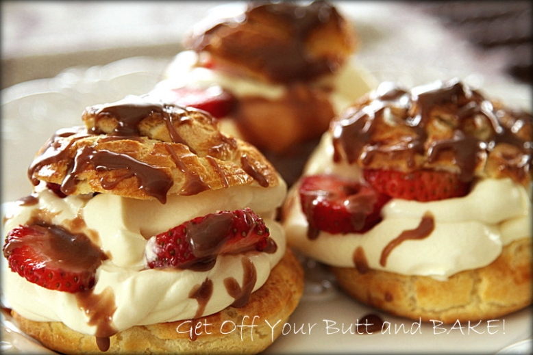 how to make choux pastry rise