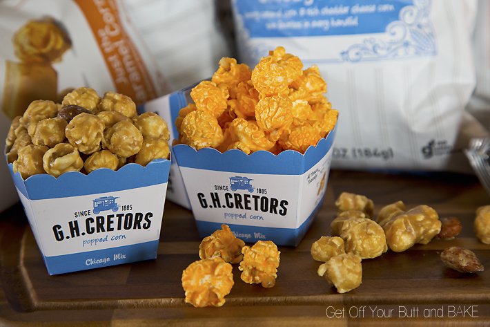 The Mix Blend rich, buttery caramel corn and premium, aged cheddar cheese corn, and you've got a mouth-watering mix of sweet and salty. Or as we like to call it, The Mix.