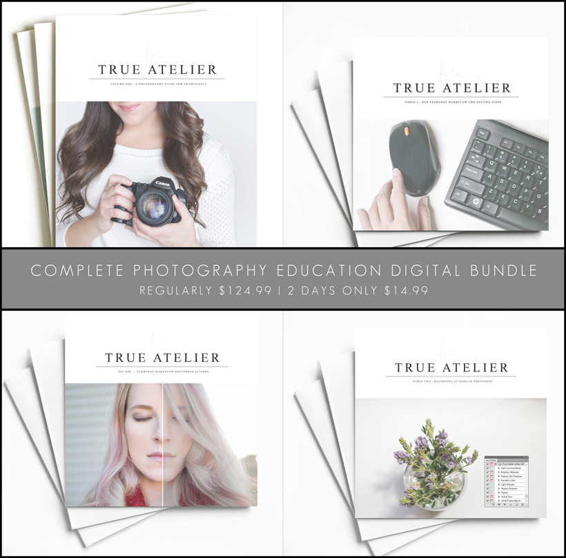 COMPLETE PHOTOGRAPHY EDUCATION DIGITAL BUNDLE