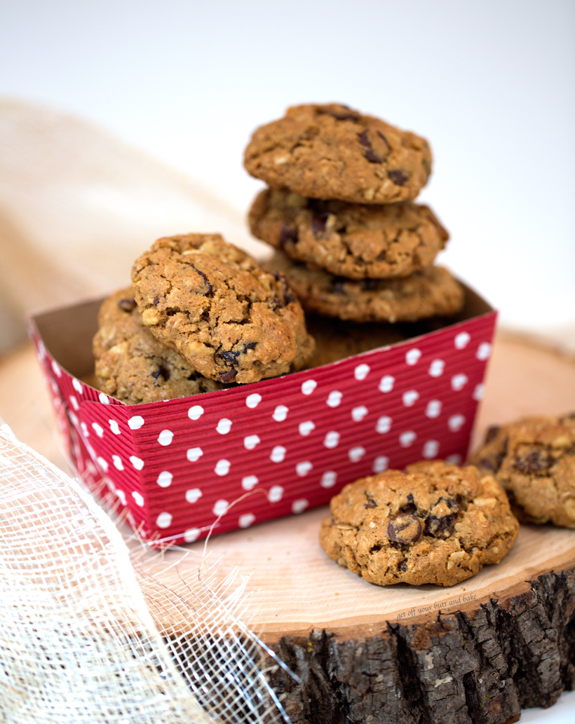 Love And Chewy Oatmeal Chocolate Chip Cookies Https Www